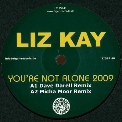 Liz Kay - You're Not Alone 2009 (Single)