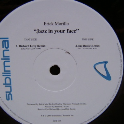Erick Morillo - Jazz In Your Face (Single)