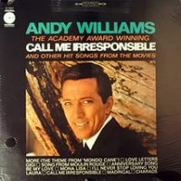Andy Williams - Call Me Irresponsible (Album)