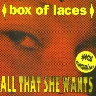 Box Of Laces - All That She Wants (Special Dance Mixes) (Album)