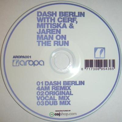 Dash Berlin - Man On The Run (Album)