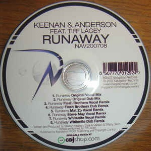 Tiff Lacey - Runaway (Single)