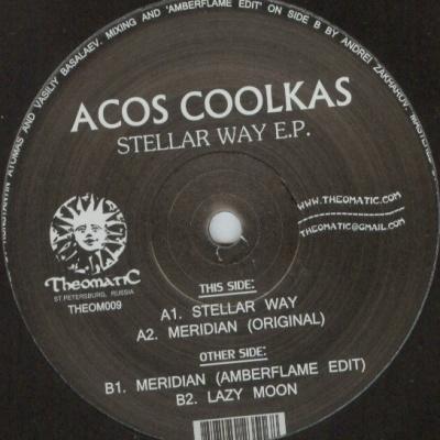 Acos Coolkas - Stellar Way E.P. (Single)