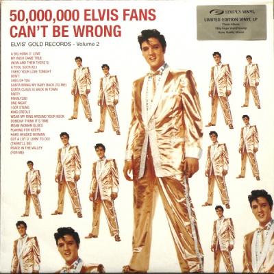 Elvis Presley - 50,000,000 Elvis Fans Can't Be Wrong - Elvis' Gold Records - Volume 2 (Album)