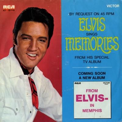 Elvis Presley - Memories (Single)