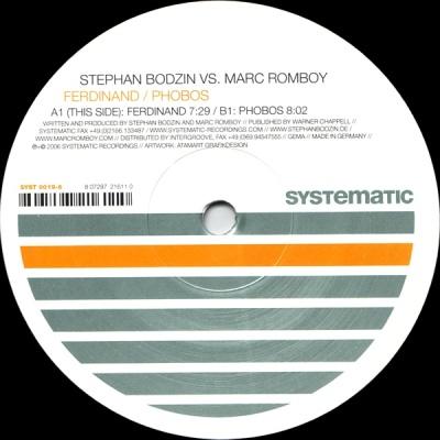 Stephan Bodzin - Ferdinand-Phobos (Master Release)
