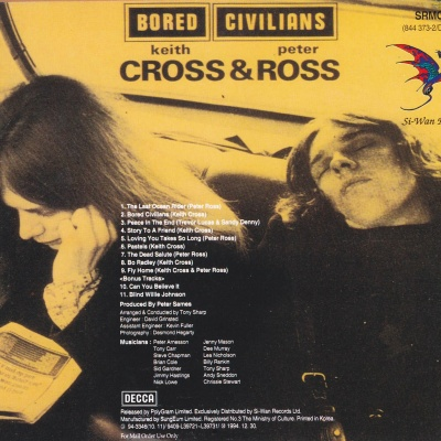 Ketih Cross - Bored Civillians (Album)