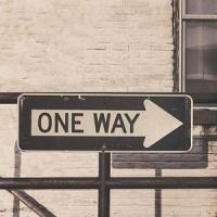 - One Way