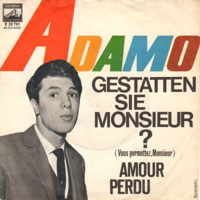 Salvatore Adamo - Gestatten Sie, Monsieur (Album)