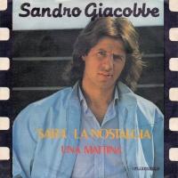 Sandro Giacobbe - Sarà La Nostalgia