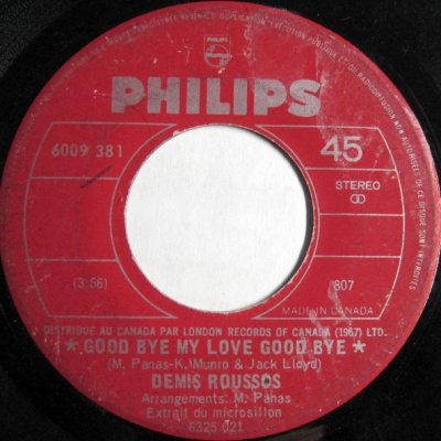 Demis Roussos - Goodby My Love Goodbye