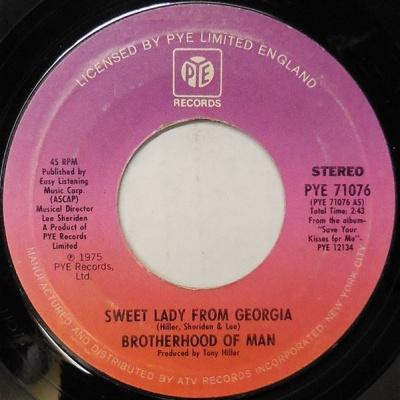 Brotherhood Of Man - Sweet Lady From Georgia