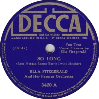Ella Fitzgerald - So Long / Five O'Clock Whistle