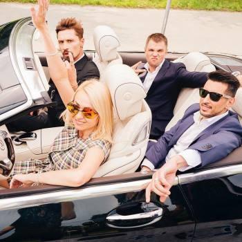 Группа «Градусы» сняла клип с российскими звездами