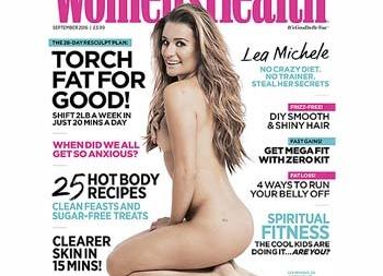 Лиа Мишель снялась обнаженной для журнала
