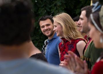 Эмин «убежал» в Баку с актрисой