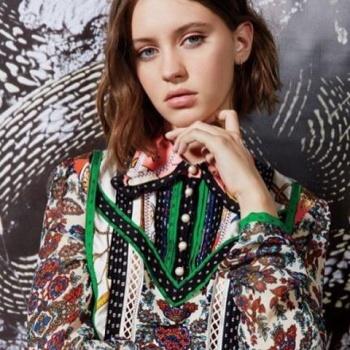 Дочь Джуда Лоу снялась для модного журнала