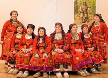«Бурановские бабушки» подготовились к Чемпионату мира по футболу