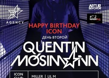 QUENTIN MOSSIMAN даст концерт в клубе ICON