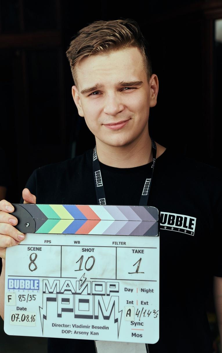 15 февраля в прямом эфире радио First продюсер и режиссер Владимир Беседин