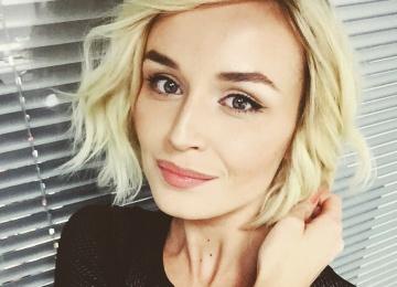 Гагарина Полина родила доченьку