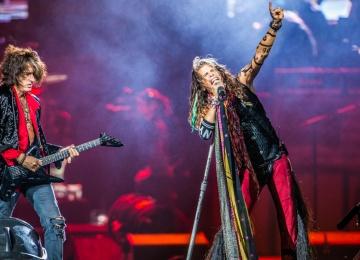 Прощальный тур Aerosmith в Москве