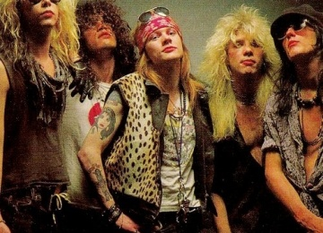 Guns N' Roses выпустят шоу в 3D
