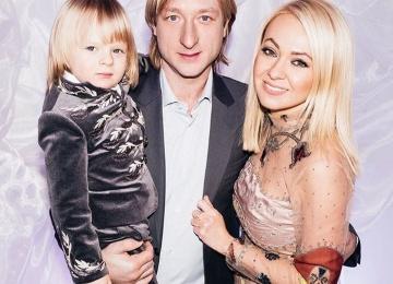 Александр Плющенко в четыре года повторил знаменитый номер отца