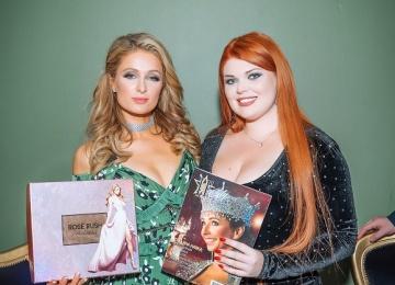 Пэрис Хилтон посетила в Москве премию LF City Awards