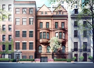 Абрамович купил три исторических особняка в Нью-Йорке