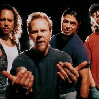 Metallica сыграла гимн США перед НХЛ