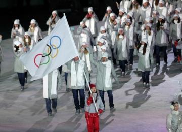 Открытие Олимпиады-2018 прошло без российского флага