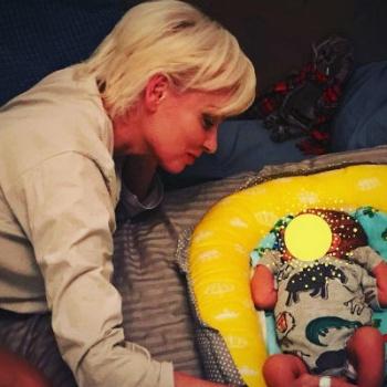 Актриса Жанна Эппле впервые стала бабушкой. Внука назвали Север