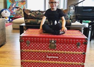 Тимати подарил дочери сундук Louis Vuitton за 68 тысяч долларов