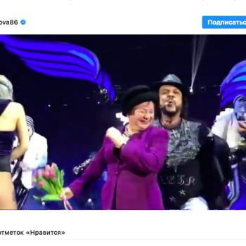 Бабушка Ольги Бузовой зажгла на концерте Филиппа Киркорова