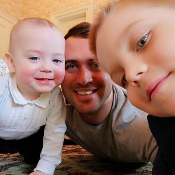 Селфи Кержакова и его сыновей очаровало пользователей социальных сетей