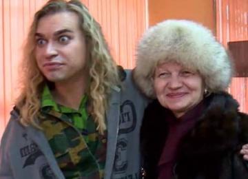 31-летний Гоген Солнцев женился на 63-летней женщине