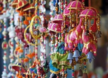 Большая индийская ярмарка на Арбате