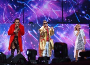 Митя Фомин собрал золотой состав Hi-Fi на сцене