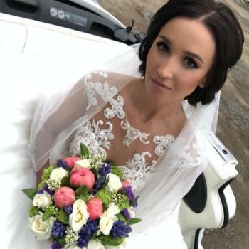 Ольга Бузова обрадовала поклонников фото в свадебном платье