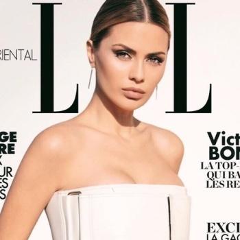 Боня появилась на обложке арабского журнала в откровенном наряде