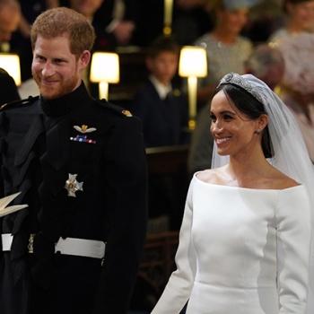 Поженились! Состоялось венчание принца Гарри и Меган Маркл