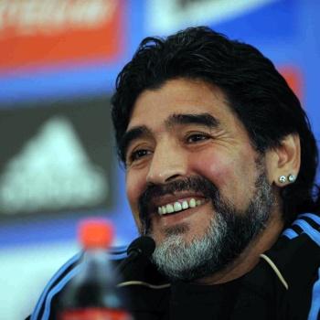 Марадоне стало плохо после матча Нигерия – Аргентина