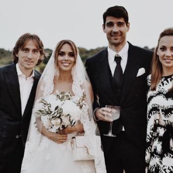 Известный хорватский футболист взял в жены участницу «Евровидения-2018»