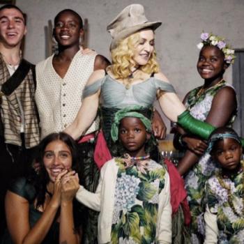Мадонна временно завершила карьеру