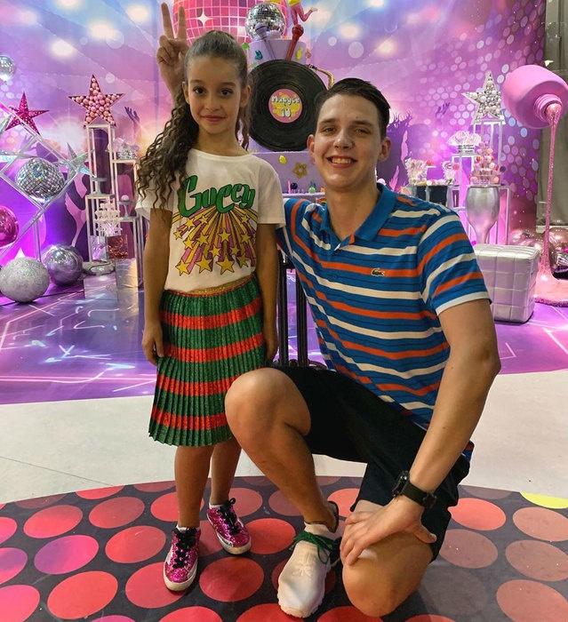 Ксения Бородина организовала вечеринку для дочери